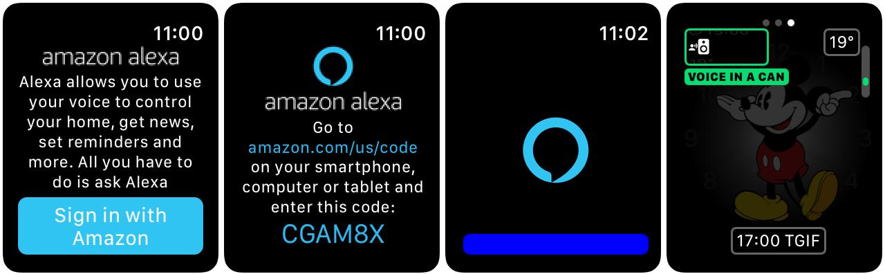 Alexa Apple Watch Amazon