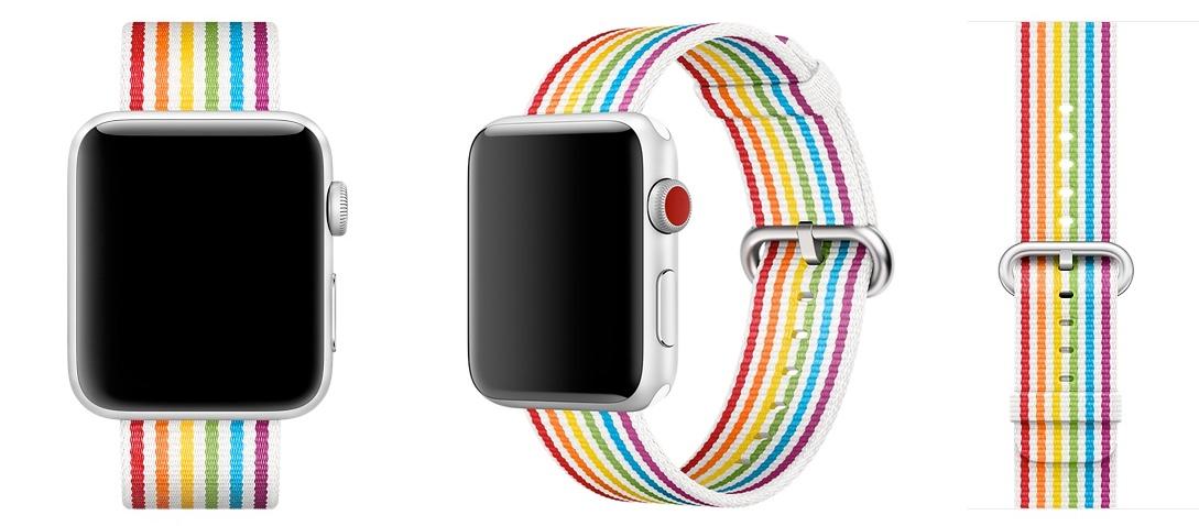 Apple Watch pride 2018 regenboogbandje