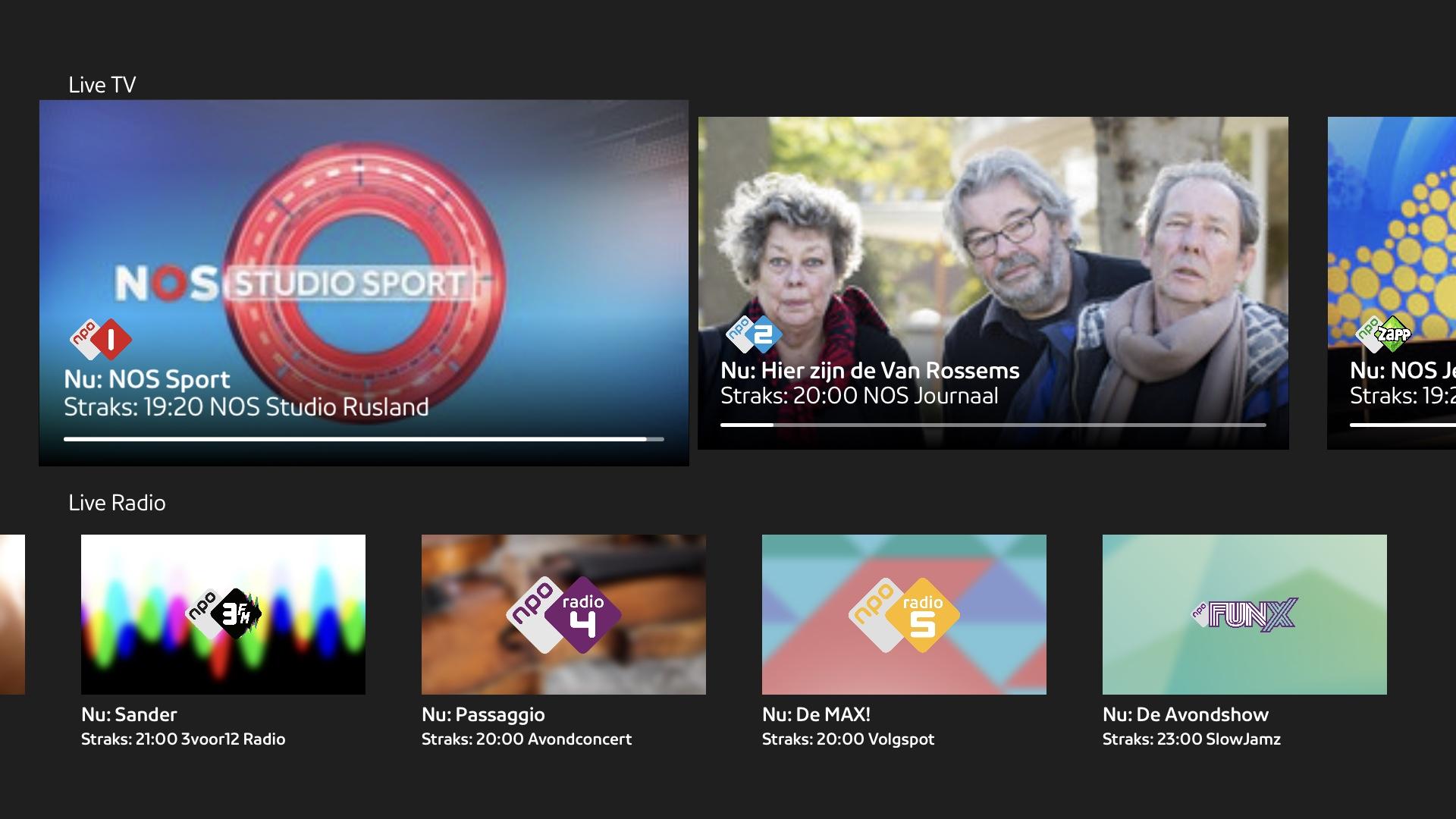 NPO Start Apple TV
