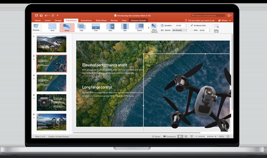PowerPoint 2019 Mac
