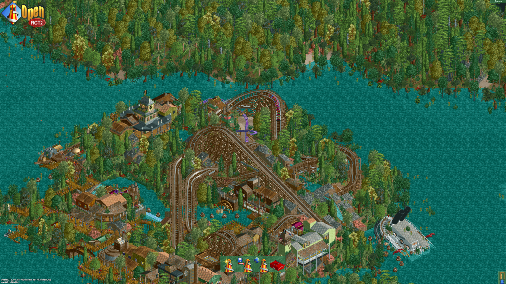 RollerCoaster Tycoon 2 OpenRCT2