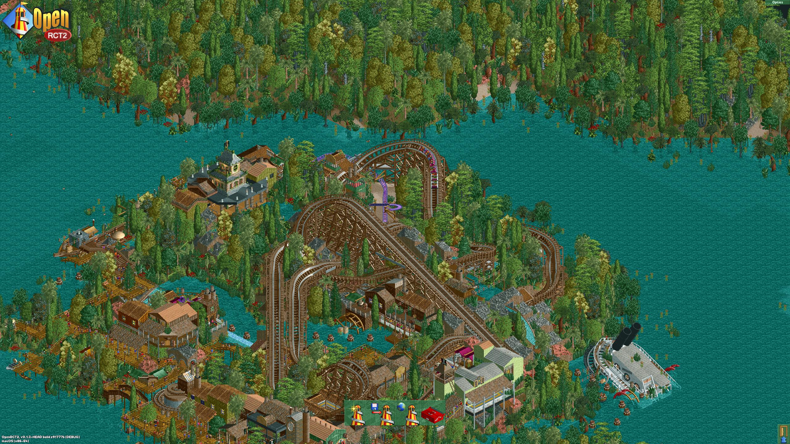 OpenRCT2: zo speel je de leukste RollerCoaster Tycoon op Mac