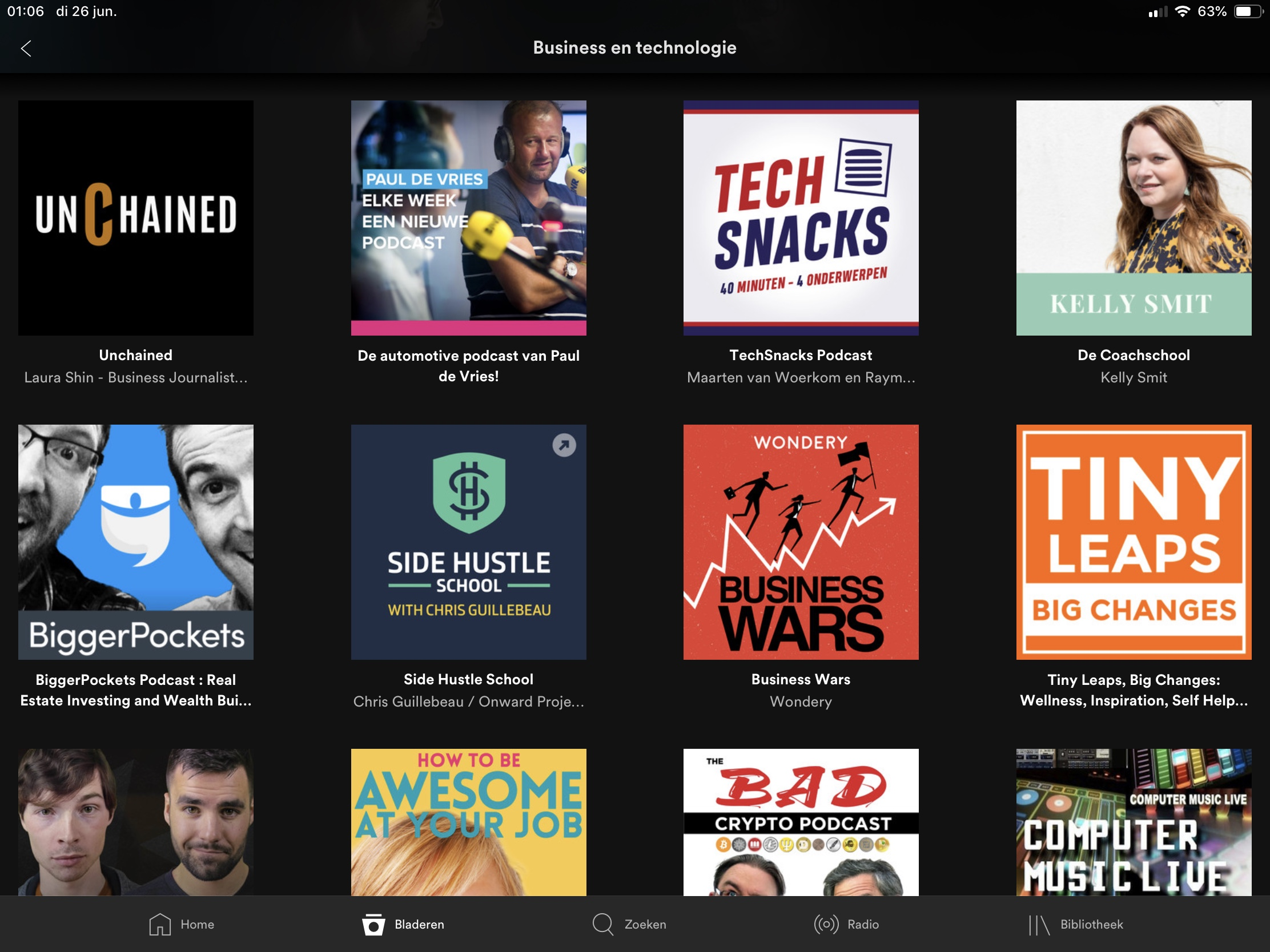 Spotify podcasts ipad