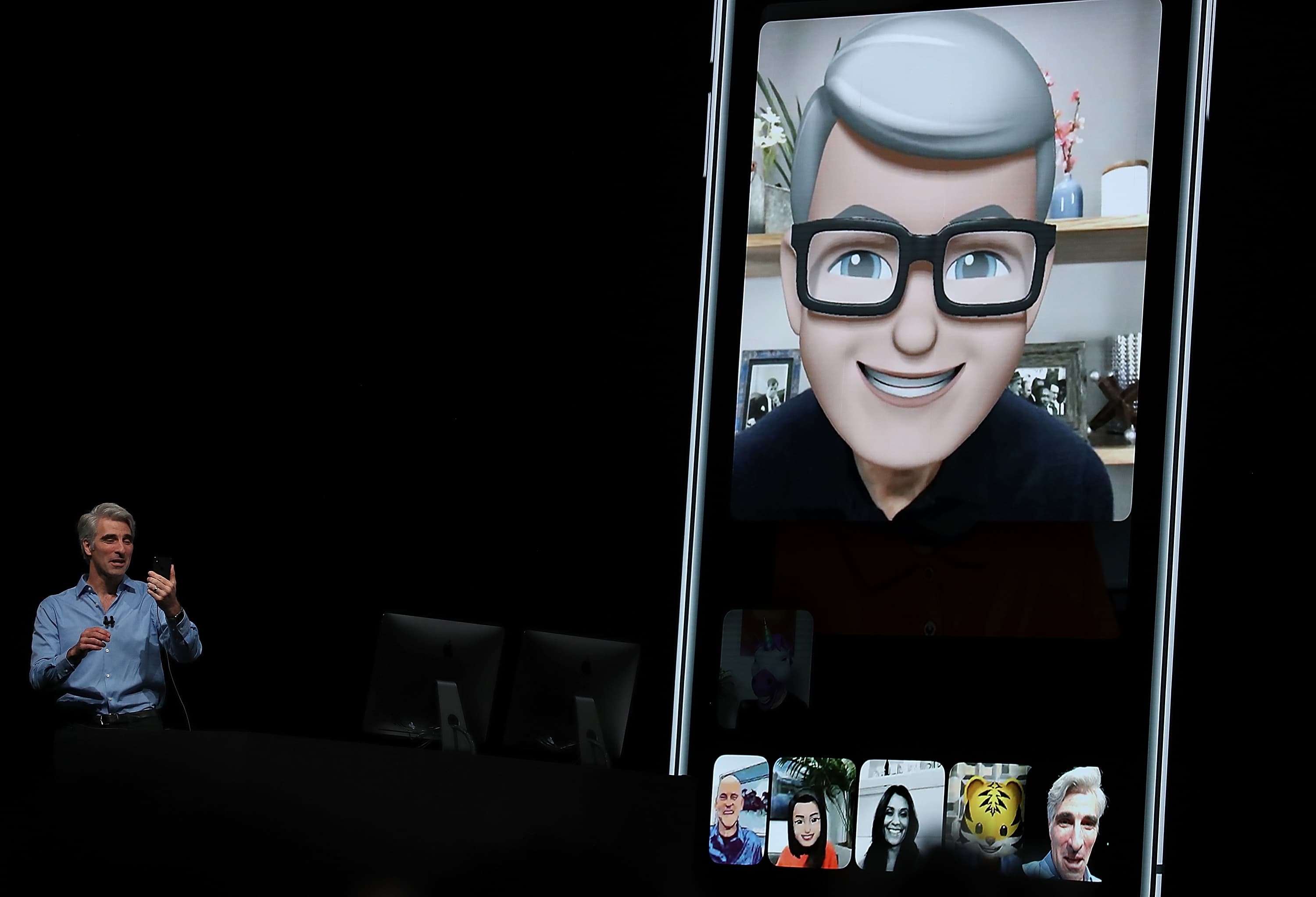 Tim Cook Memoji FaceTime