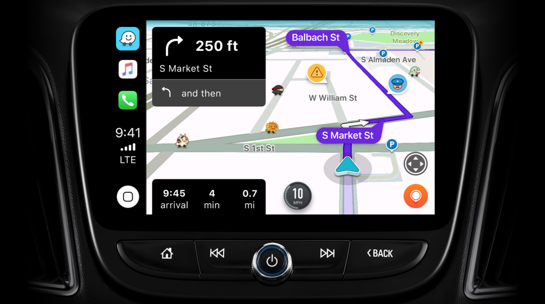Waze CarPlay iOS 12