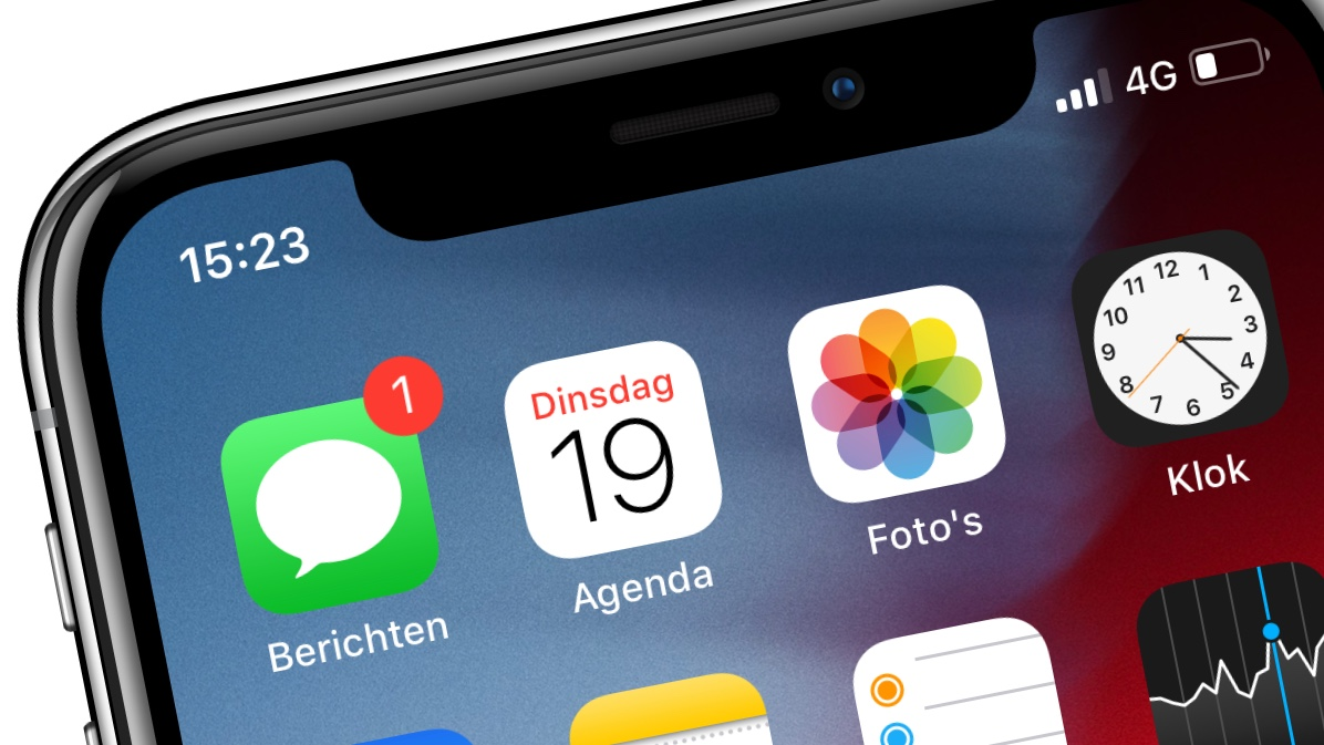 Berichten app iOS iMessage in iCloud