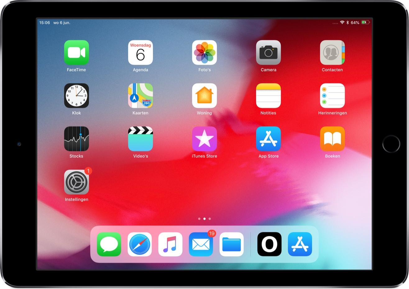 Screenshot: iOS 12 maakt ruimte voor Face ID en de notch