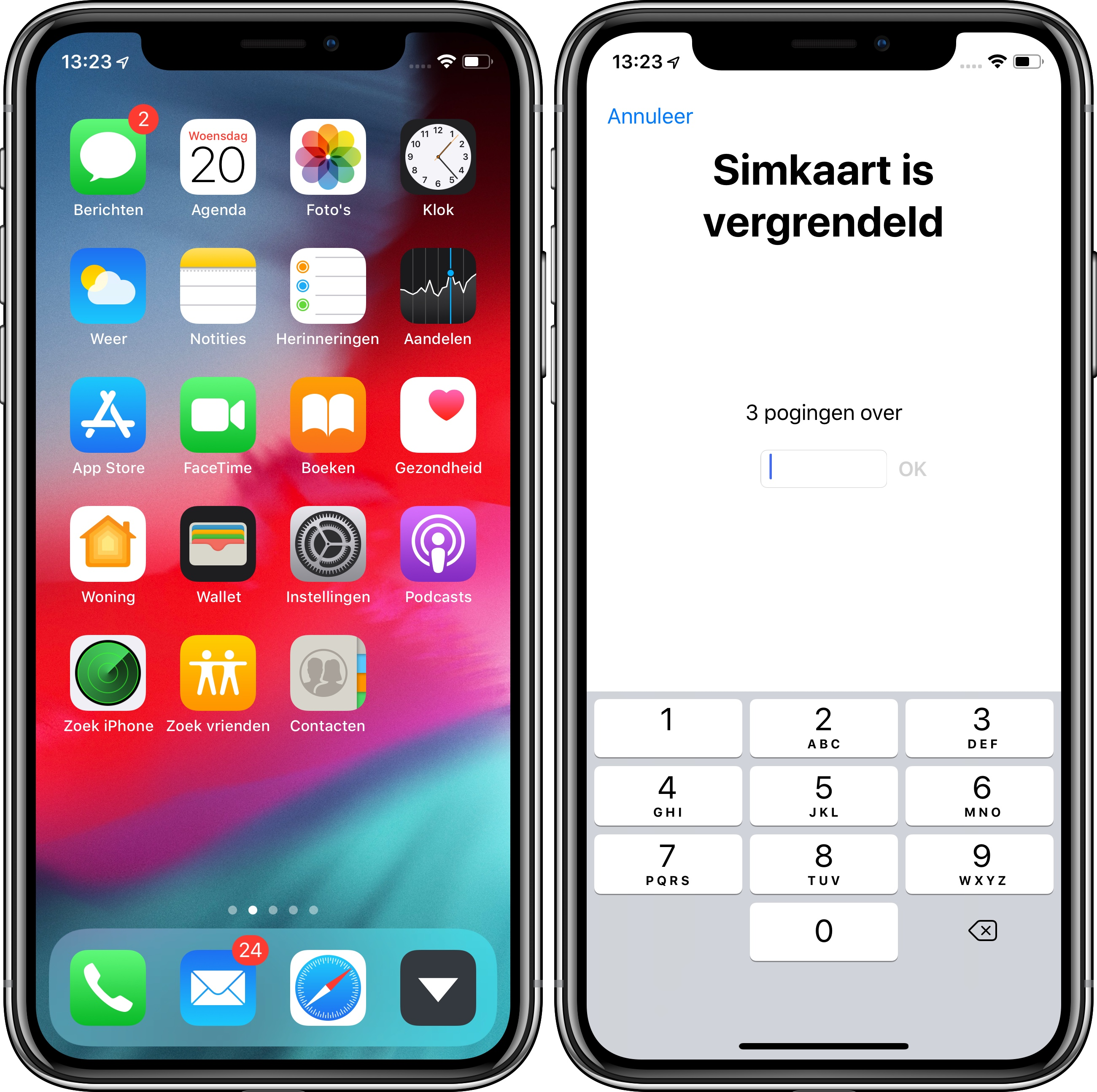 iOS 12 beta 2 iPhone X
