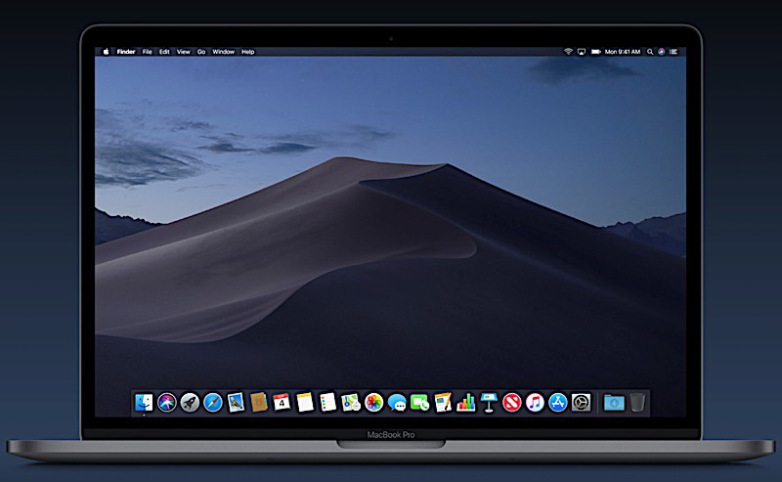 macOS dark Mode