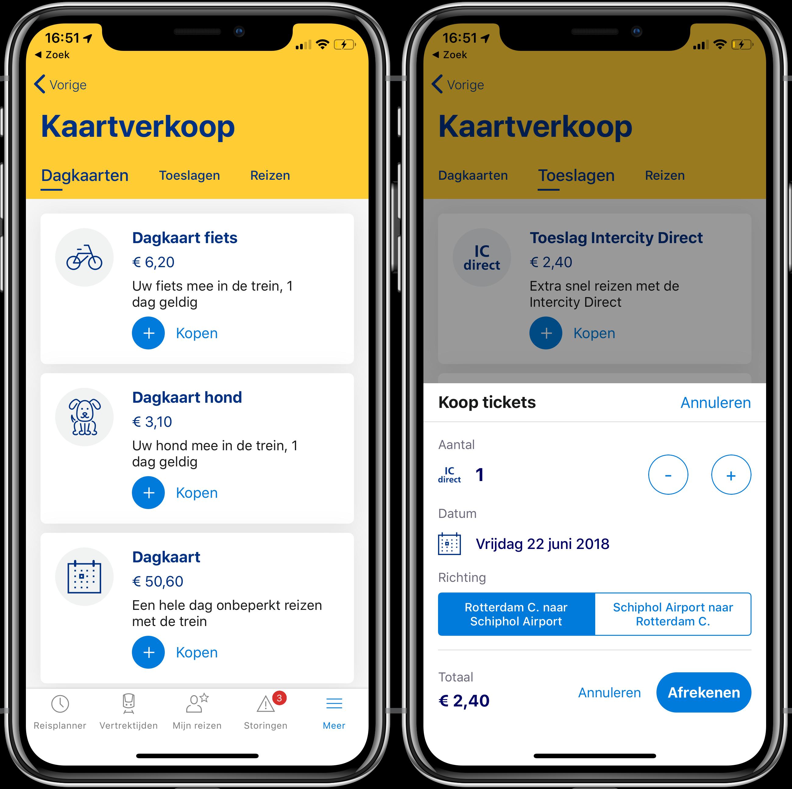 NS Reisplanner app