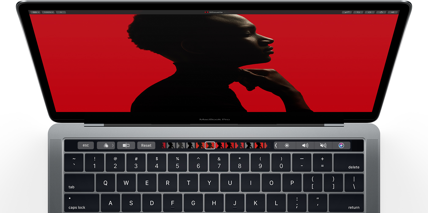 Pixelmator Pro Touch bar