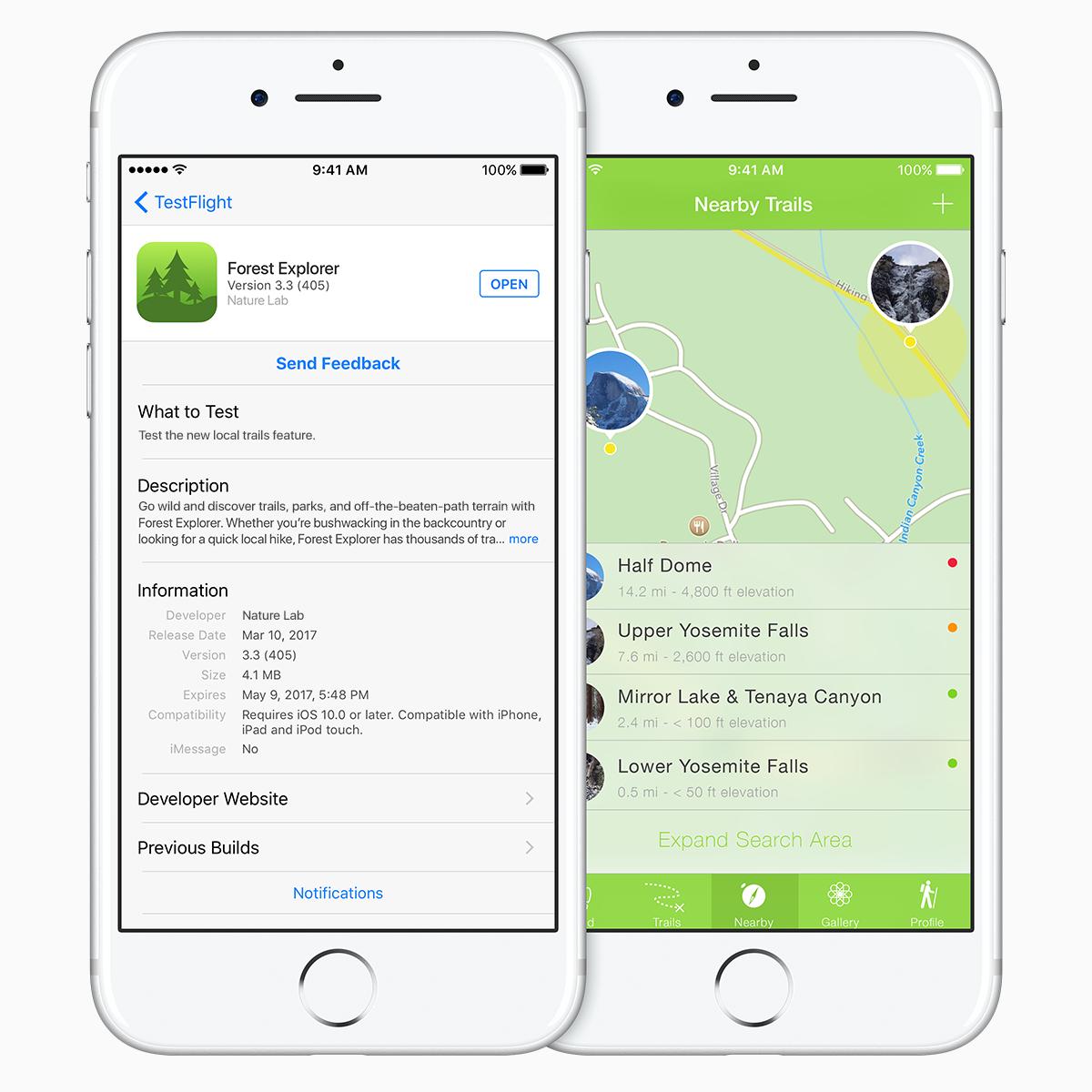 iOS 12 Testflight