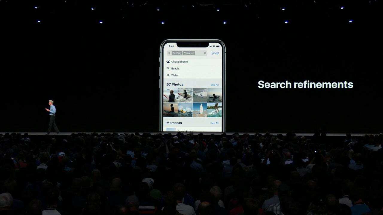 iOS 12 foto-app