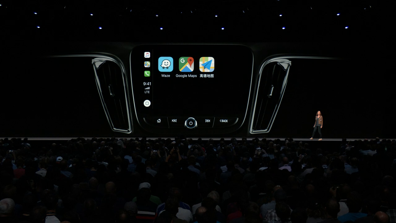 CarPlay iOS 12