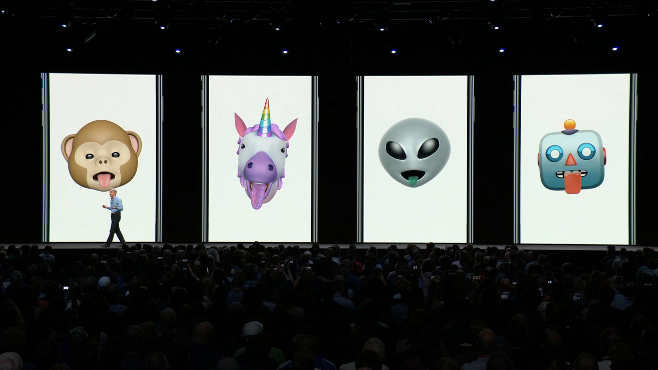 iOS 12 animoji