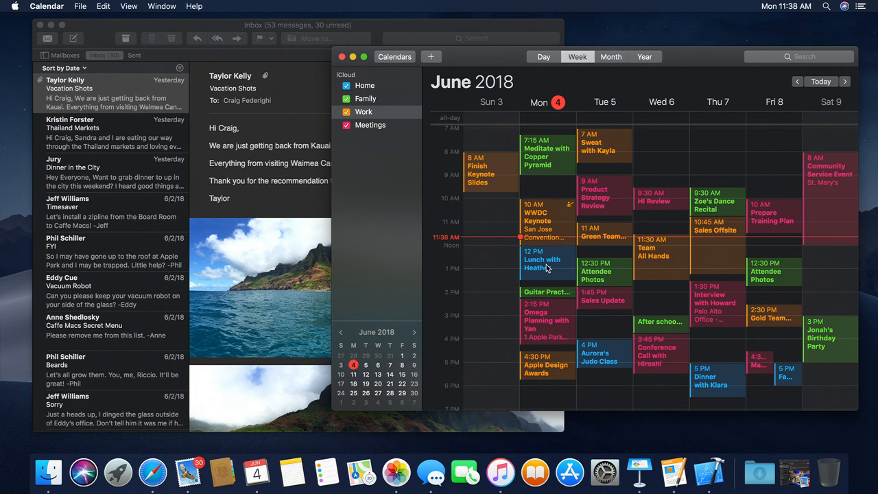 macOS 10.14 Mojave dark mode
