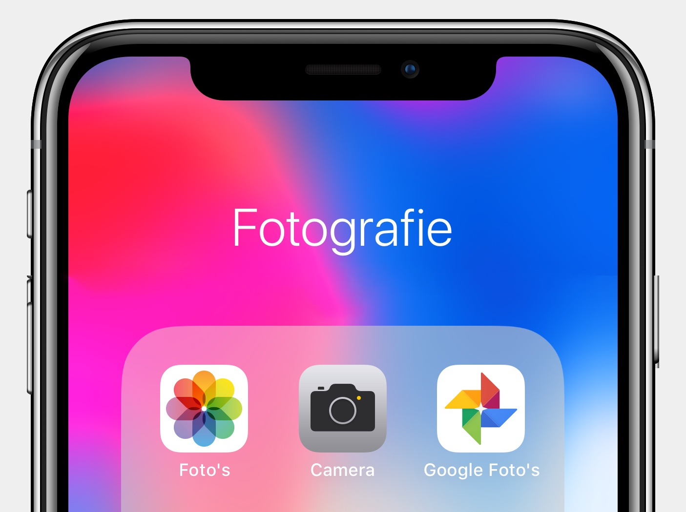 Apple Foto's Google Foto's