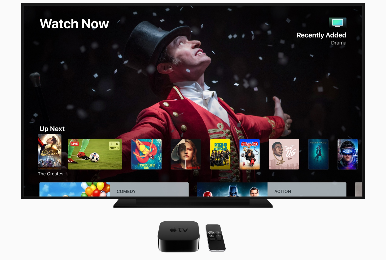 Apple TV 4k tvOS 12 Dolby Atmos
