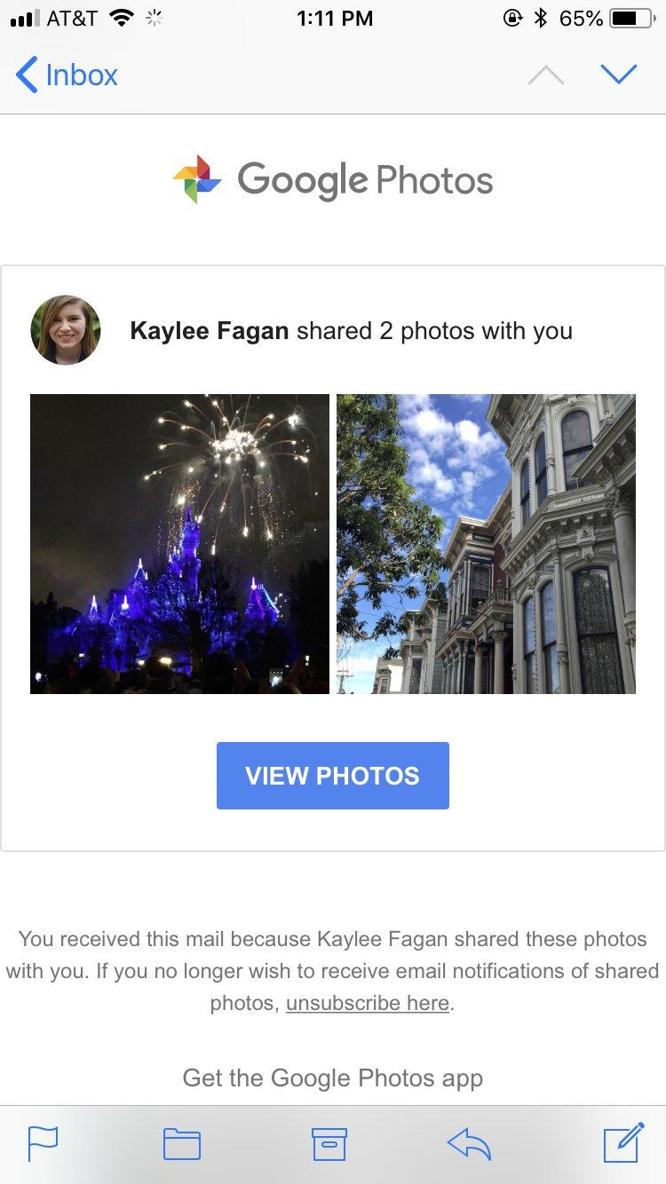 Google foto's delen