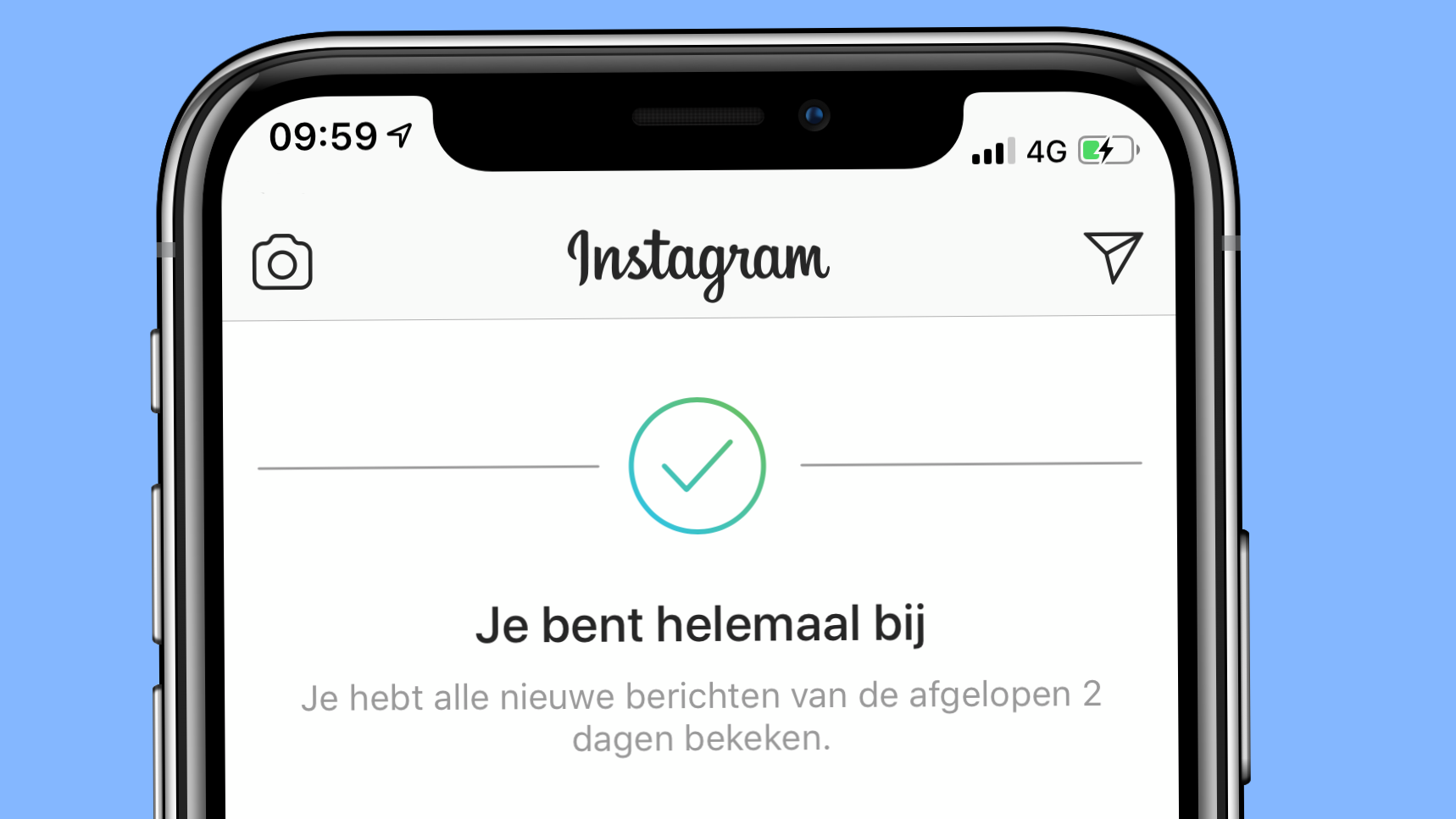 Instagram alle foto's gezien