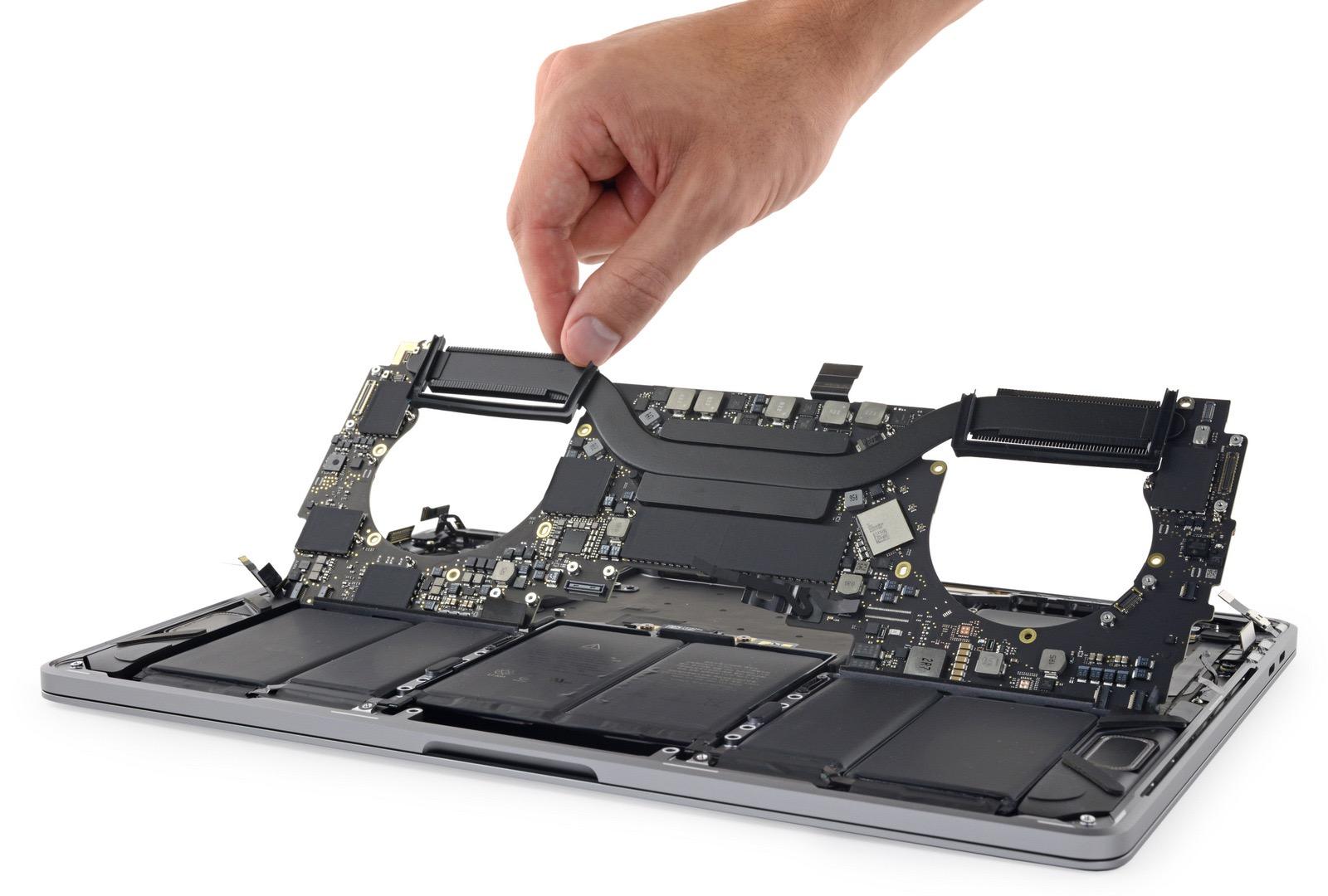MacBook Pro 2018 moderbord