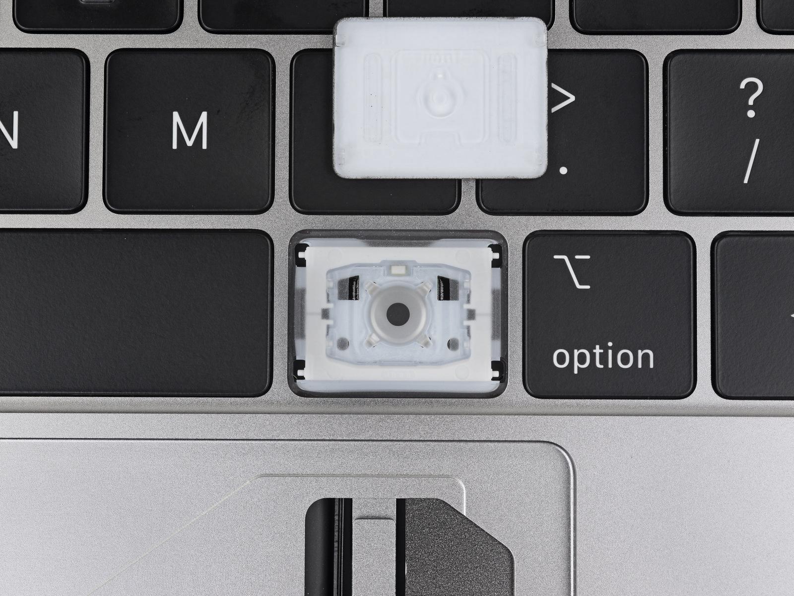 MacBook Pro 2018 toetsenbord