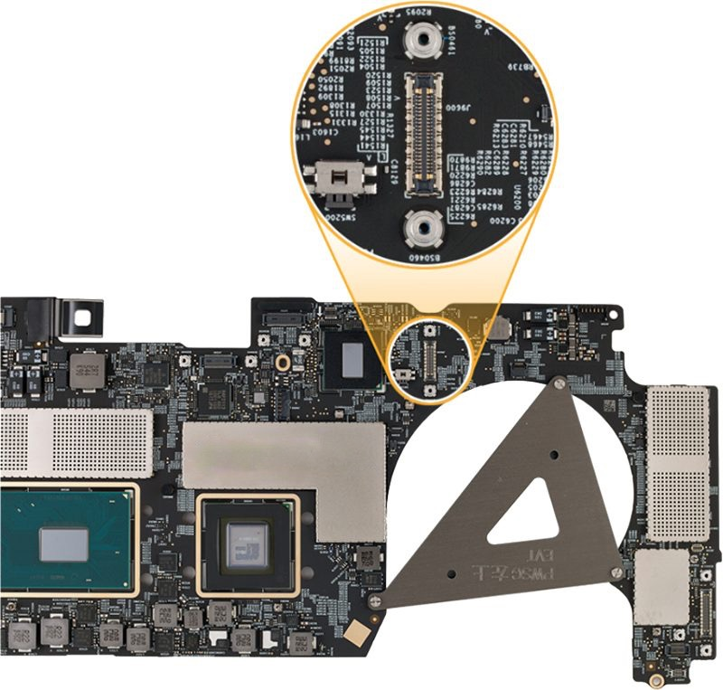 MacBook pro data recovery port
