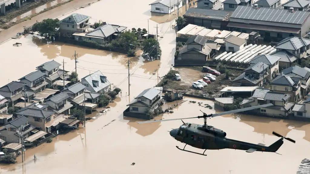 Overstroming Japan
