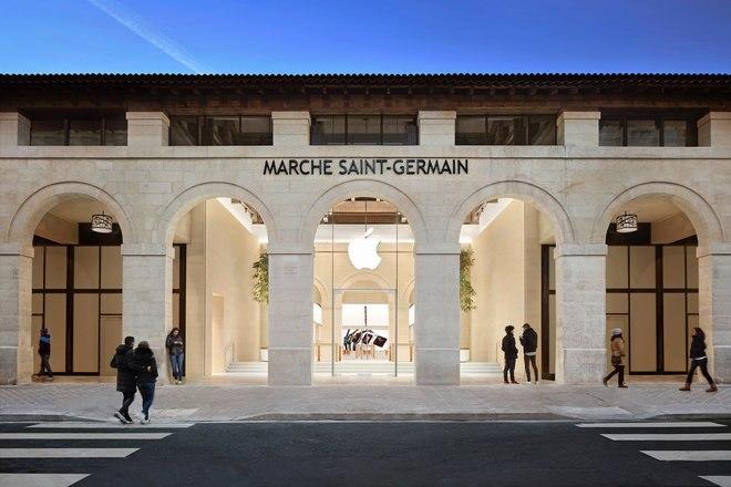 Apple Store Parijs
