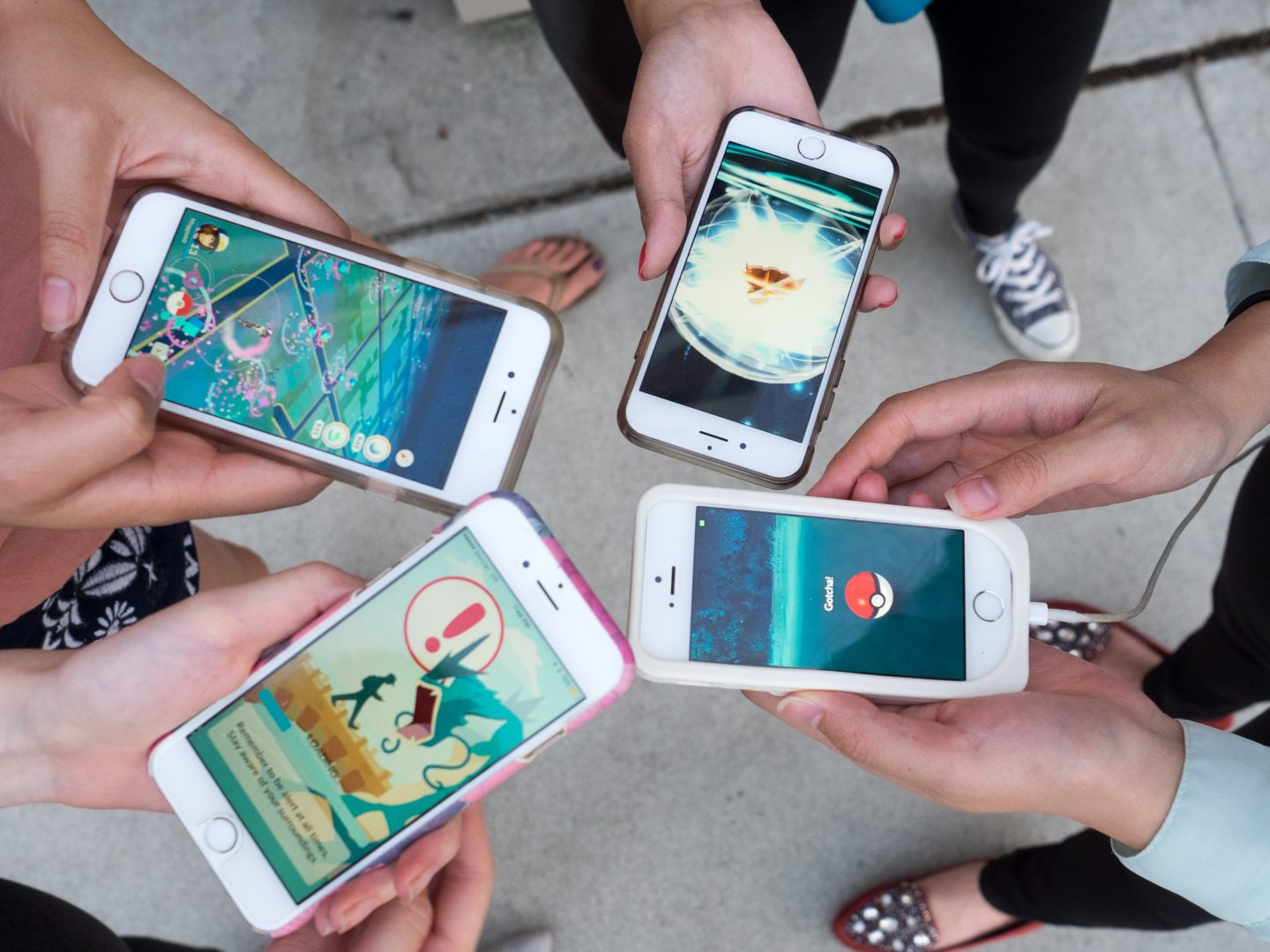 Pokémon Go iPhone