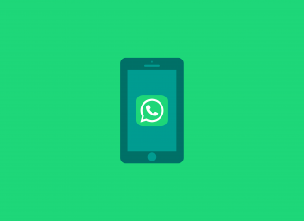 WhatsApp op smartphone illustratie 16x9