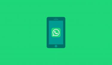 WhatsApp op smartphone illustratie 16x9