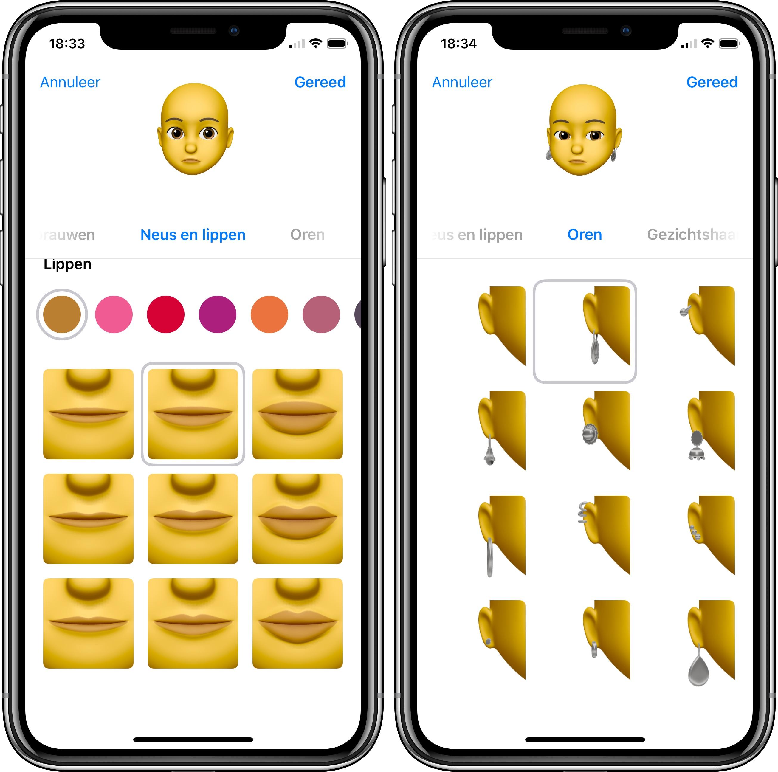 Memoji iOS 12 publieke beta 3