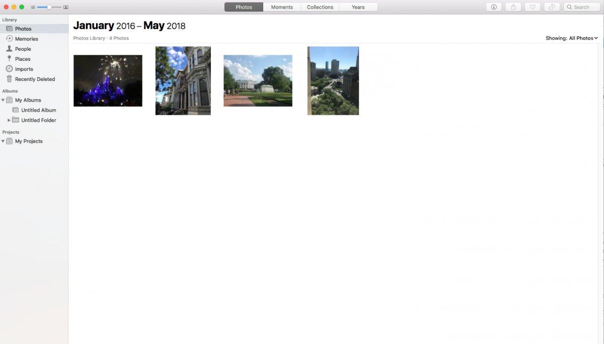 iCloud foto's