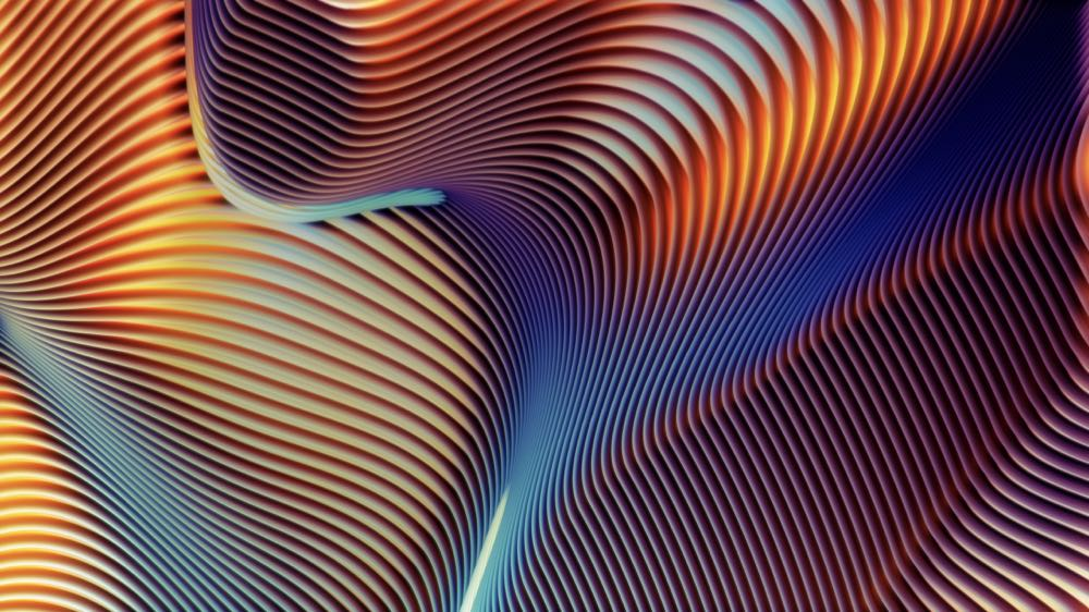 macOS Mojave Abstract Shapes 2