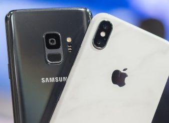 Apple Samsung smartphones
