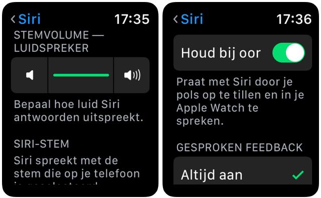Siri watchOS 5