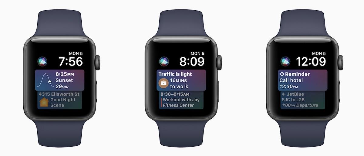 Siri in WatchOS 5
