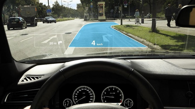 AR in de auto
