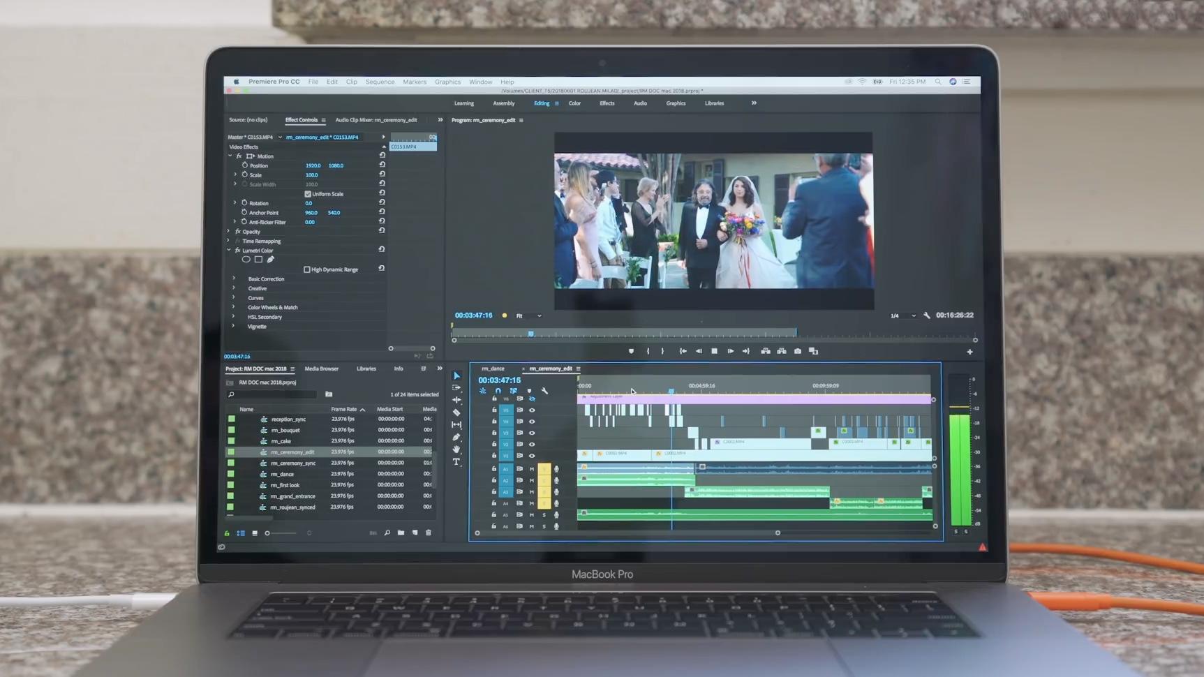 Adobe Premiere Pro MacBook Pro 2018