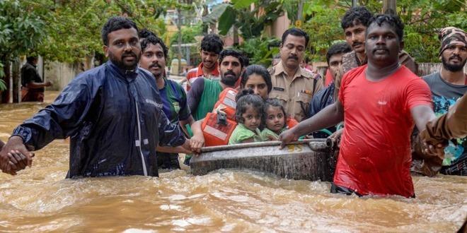 Apple India Kerala overstroming