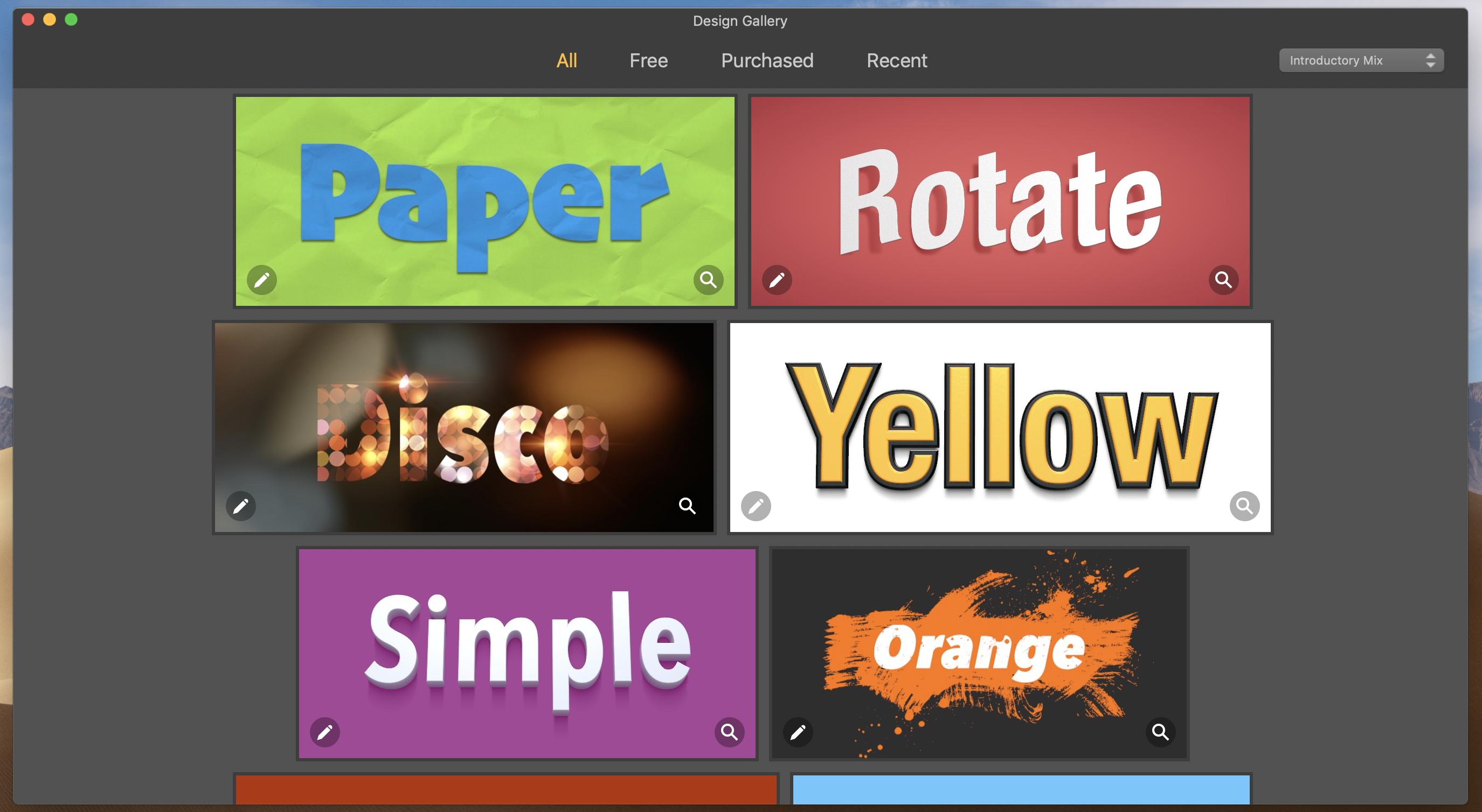 Letters Mac-app