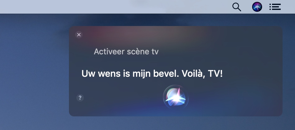 macOS Mojave HomeKit Siri