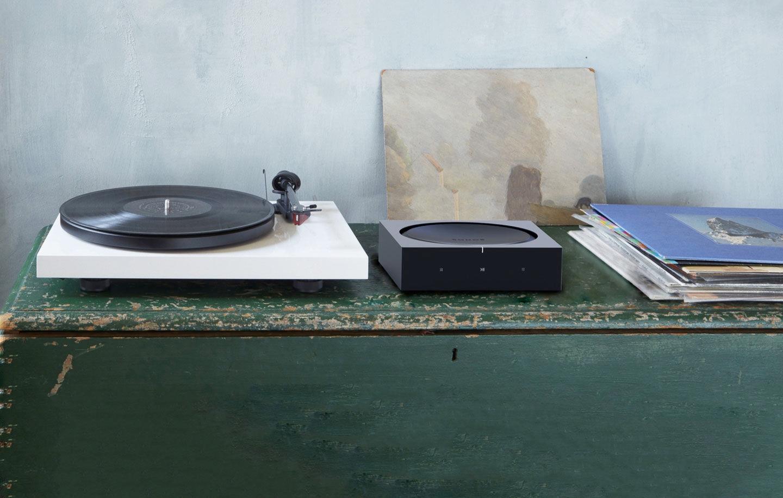 Sonos amp platenspeler