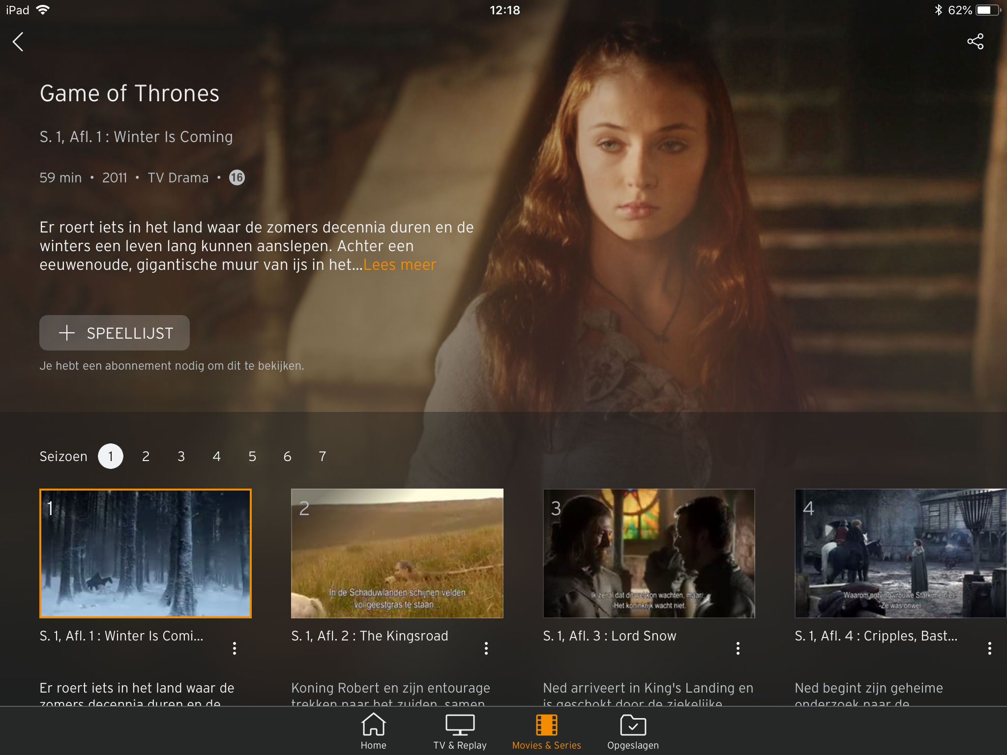 Ziggo Go Apple TV