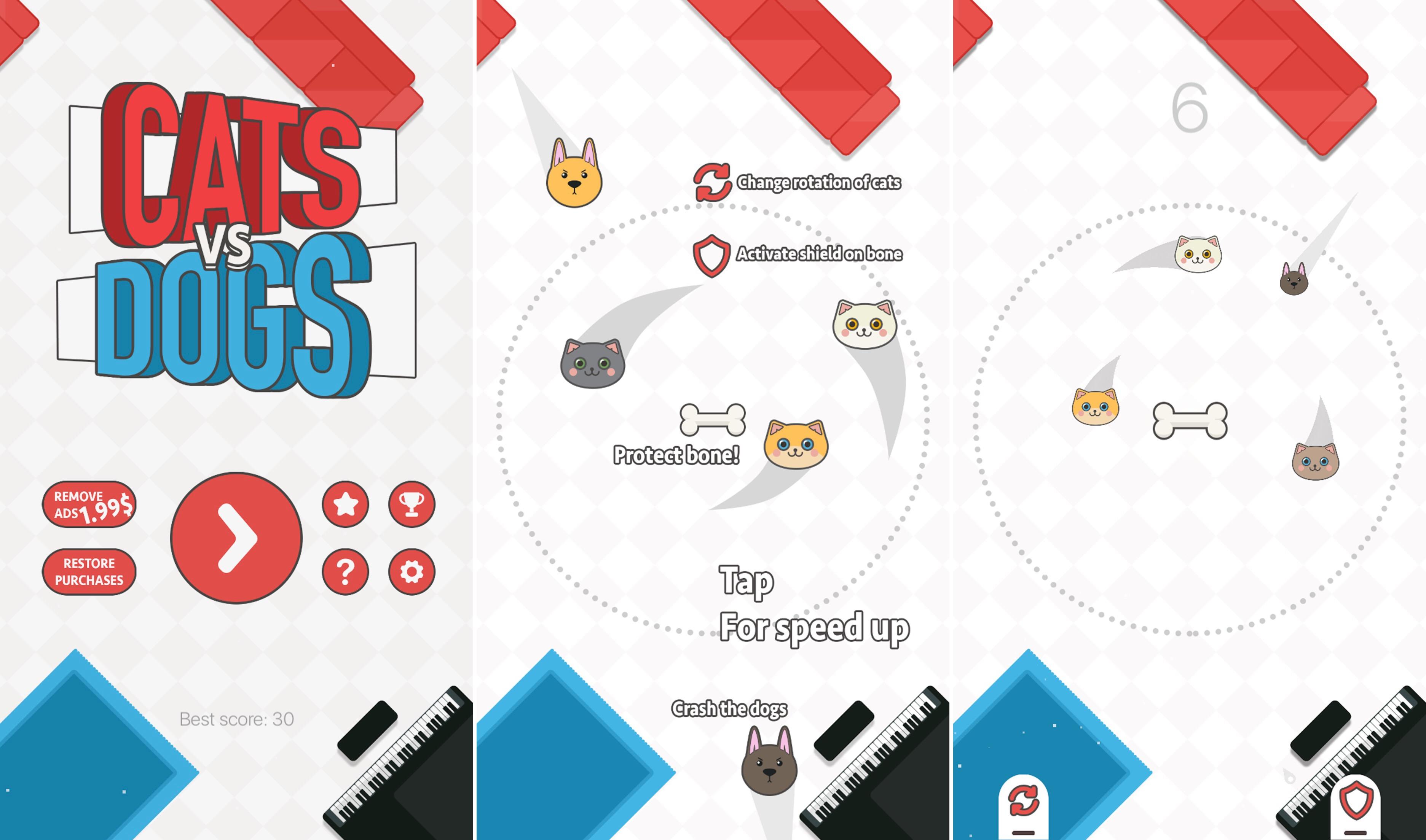 cats. vs. dogs gratis in de app store