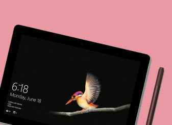 Surface Go de iPad concurrent