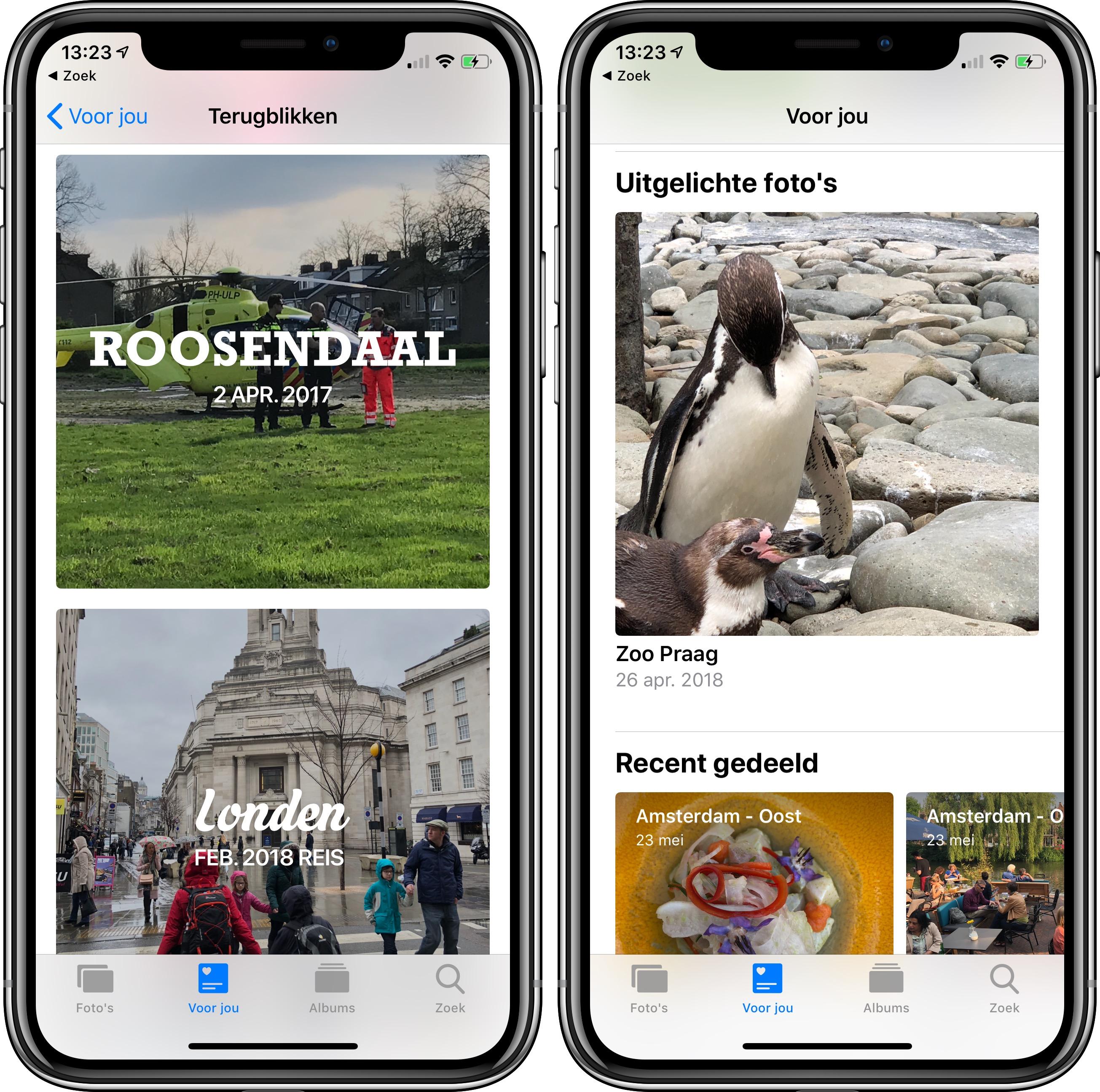 iOS 12 foto's-app voor jou