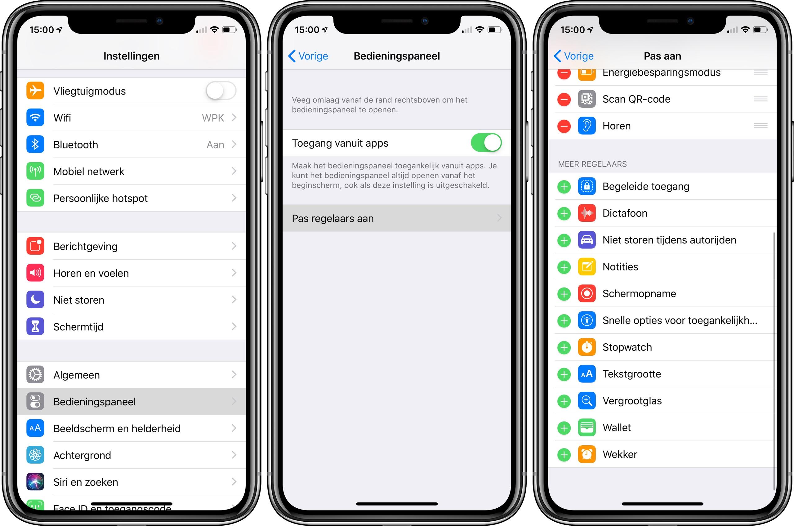 iPhone scherm opnemen