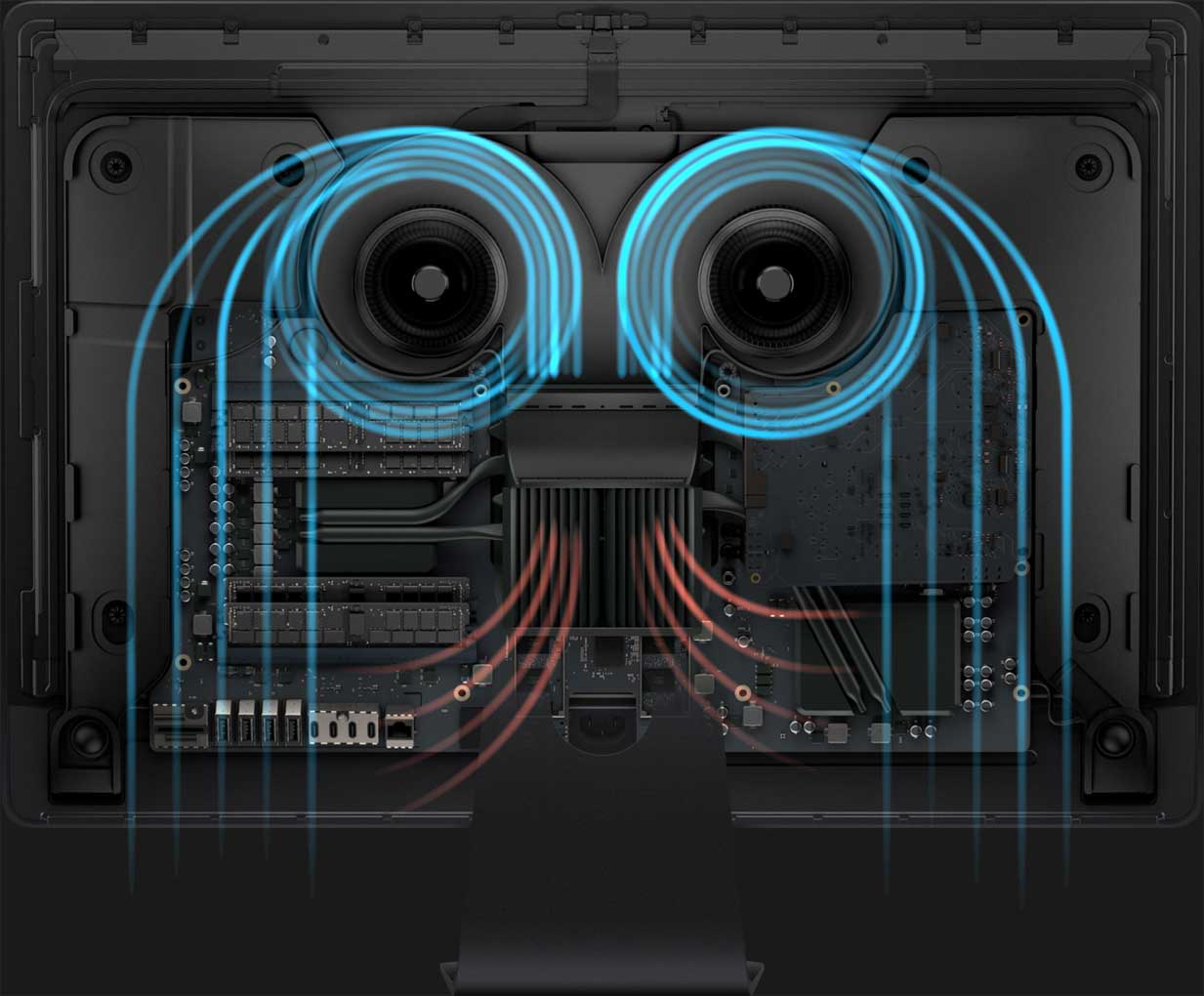 iMac Pro luchtcirculatie